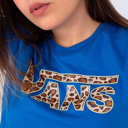 Camiseta Vans Pounce Blue VN0A4SDZJBS