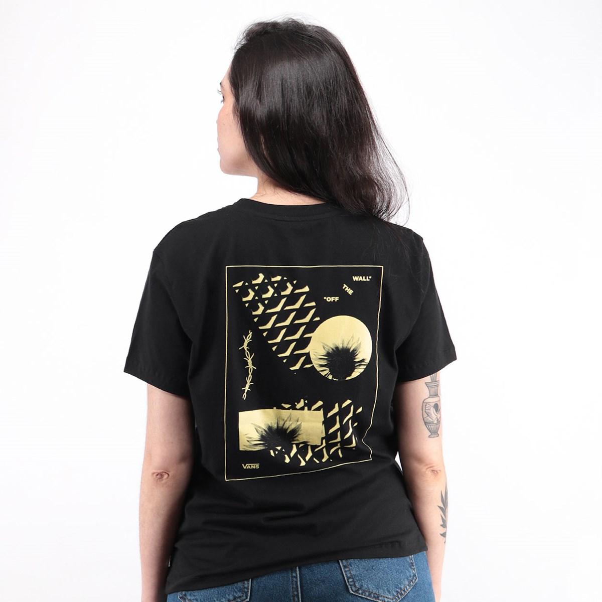 Camiseta Vans Shnarf Black VN0A4SECBLK