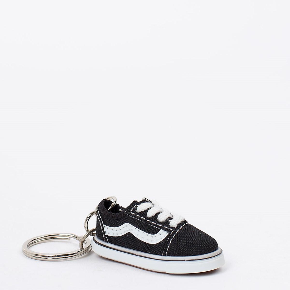 Chaveiro Vans Old Skool Keychain Black VN0A53DPBLK