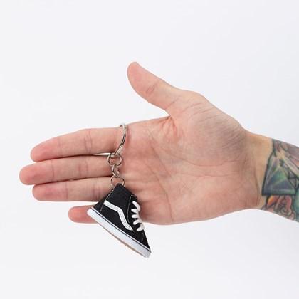 Chaveiro Vans Sk8 Hi Keychain Black VN0A31SFBLK