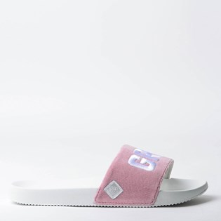 Chinelo Mary Jane Slide Grl Pwr Plush Rosa MJ-5005