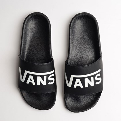 Chinelo Vans Slide On Feminino Black VN0004LGIX6