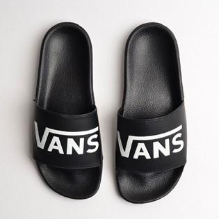 Chinelo Vans Slide On Feminino Black VNB004LGIX6
