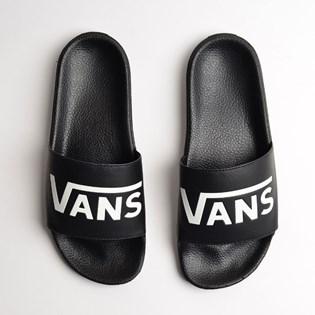 eab08c4423b Chinelo Vans Slide On Masculino Black VNB004KIIX6 Chinelo Vans Slide On  Masculino Black VNB004KIIX6
