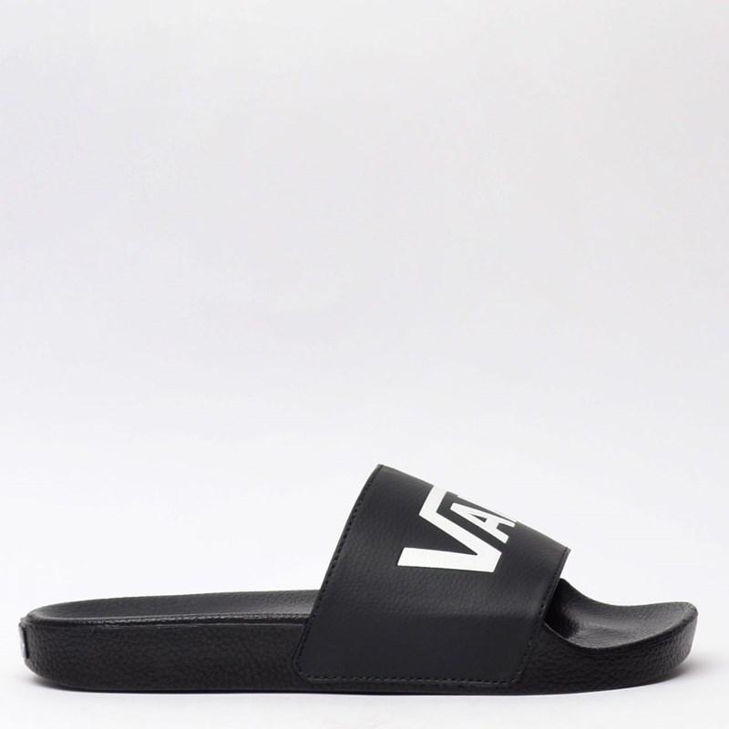 Chinelo Vans Slide On Masculino Black VNB004KIIX6