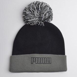 Gorro Puma Pom Beanie Black Castlerock 02233201