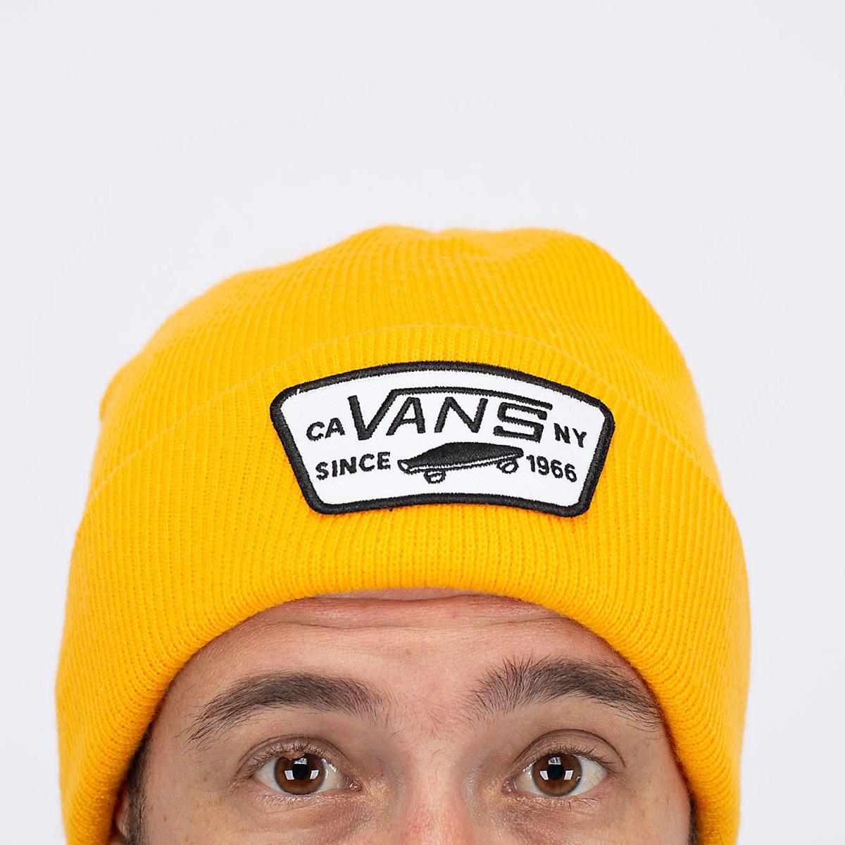 Gorro Touca Vans Milford Beanie Saffron Yellow VN000UOUZ6F