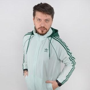 Jaqueta Adidas Corta Vento Masculina BLC SST WB Verde ED6086