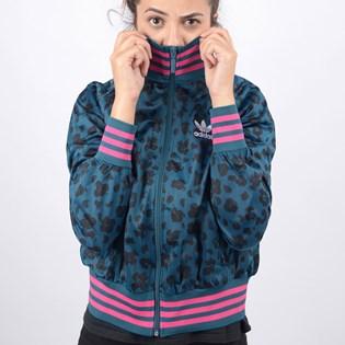 Jaqueta Adidas Feminina AOP Tracktop Multicolor ED4779