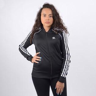 Jaqueta Adidas Feminina SS TT Black White FM3288