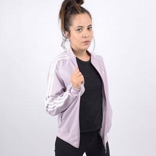 Jaqueta Adidas Feminina  SST TT Lilás ED7591