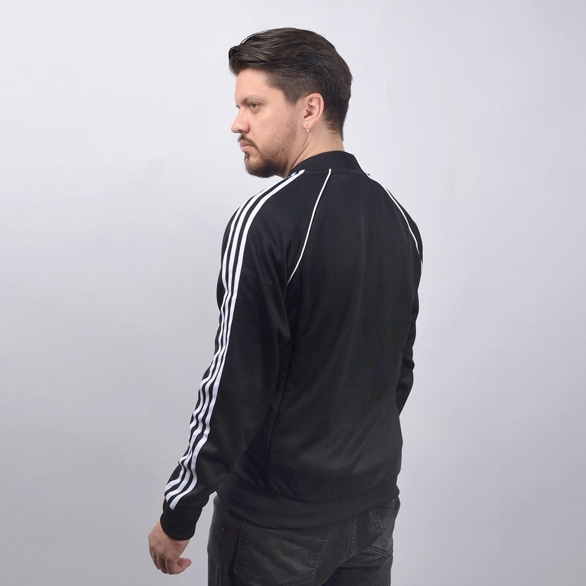 Jaqueta Adidas Masculina SST TT PREto CW1256