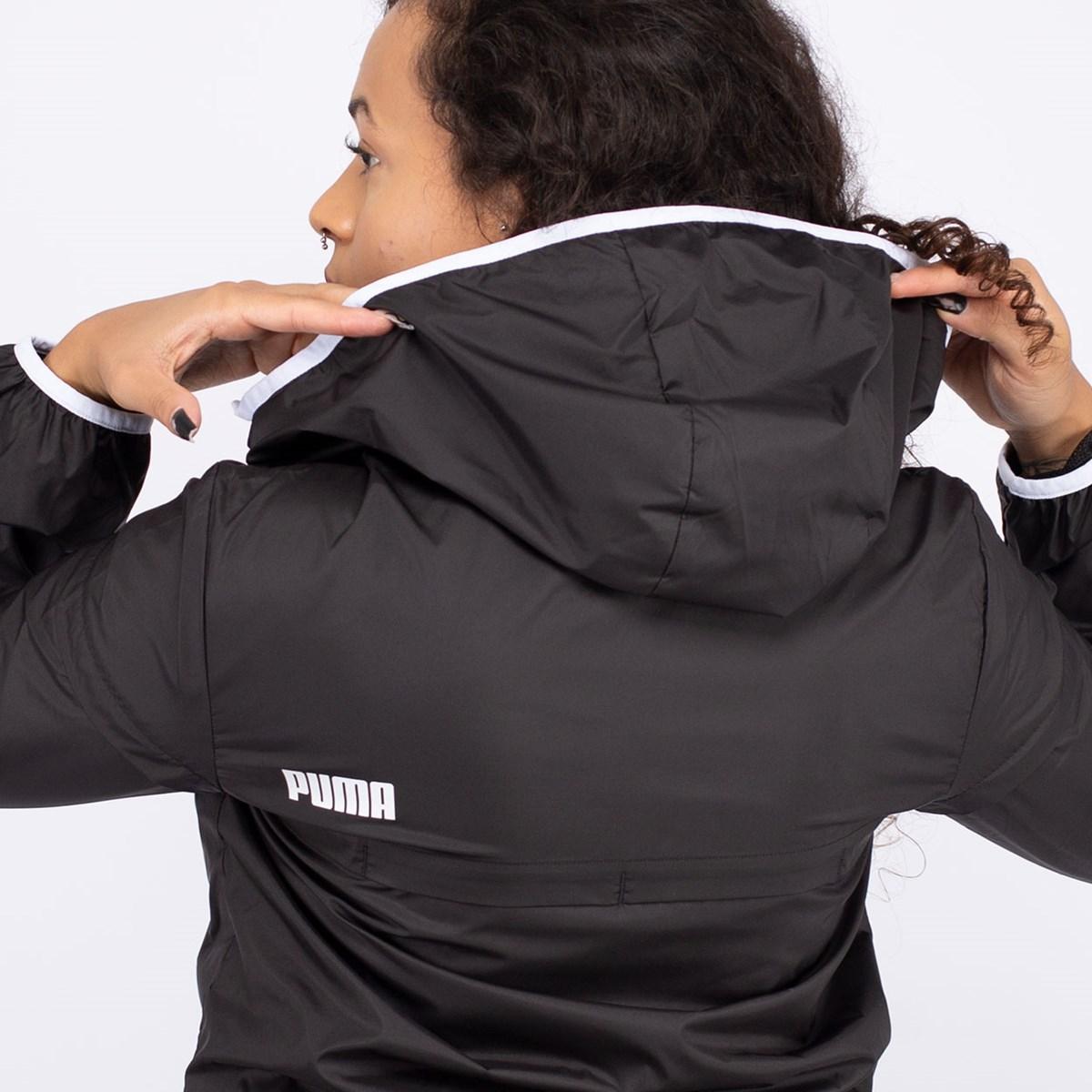 Jaqueta Corta Vento Puma Essentials Solid Black 581254-01