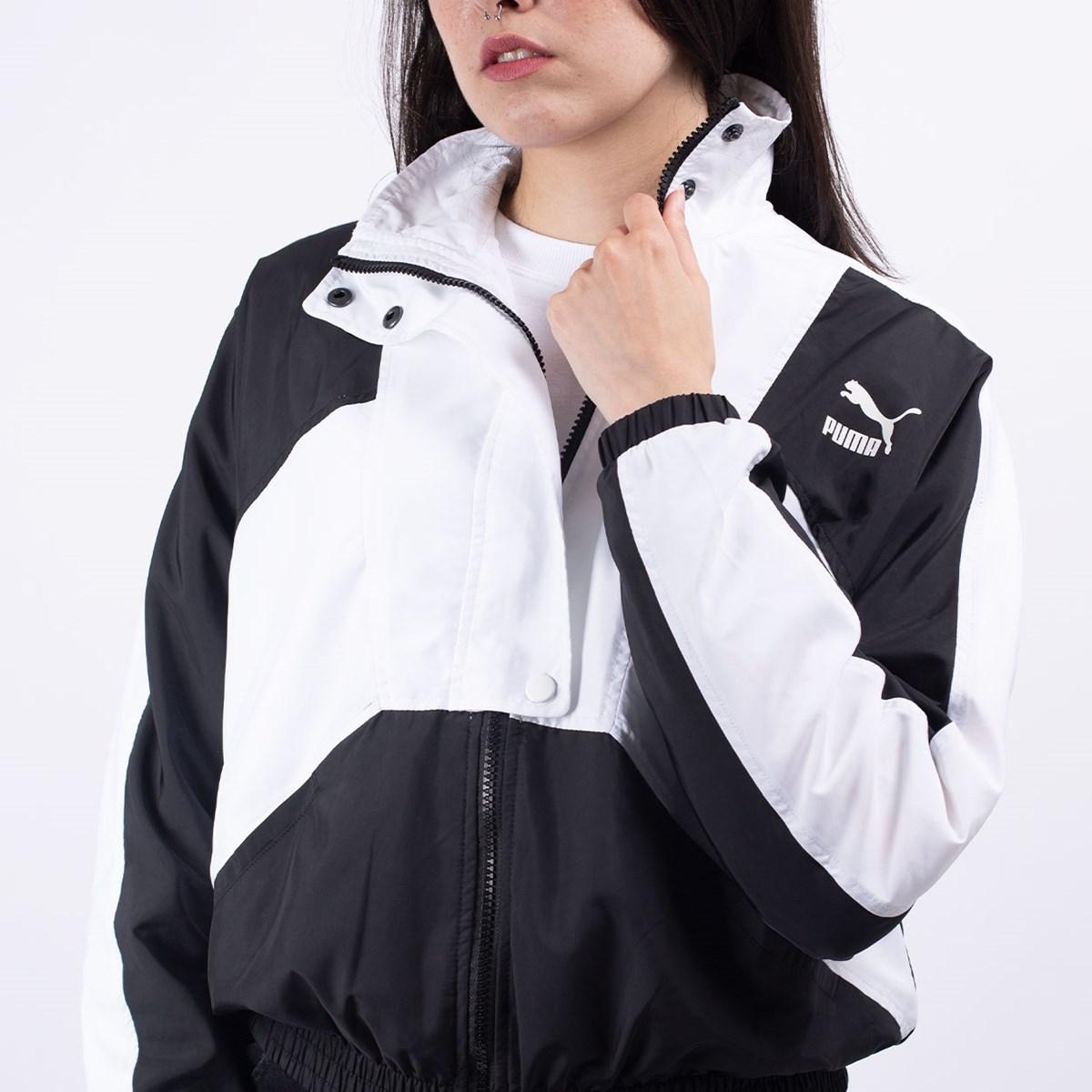 Jaqueta Puma Feminino TFS Woven Track Jacket Black 59629101