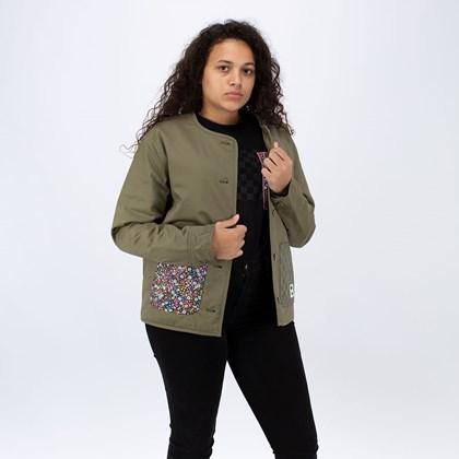 Jaqueta Vans Liberty Fabrics Jacket Burnt Olive VN0A5FSDZEA