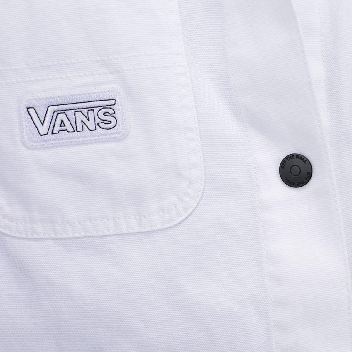 Jaqueta Vans Make Me Your Own White VN0A4V42WHT