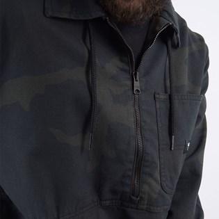 Jaqueta Vans Masculina Drill Chore Anorak Black Camo VN0A49P929B