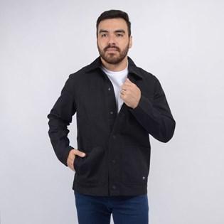 Jaqueta Vans Masculina MN Drill Chore Coat Black VN0A3WF1BLK