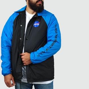 Jaqueta Vans Nasa Torrey Padde Black Blue VN0A3HXZWU6