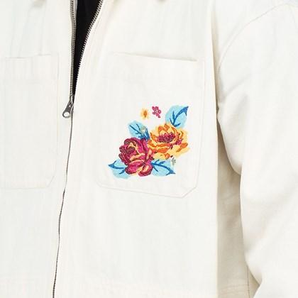 Jaqueta Vans Needlepoint Jacket Natural VN0A5JGO7VJ