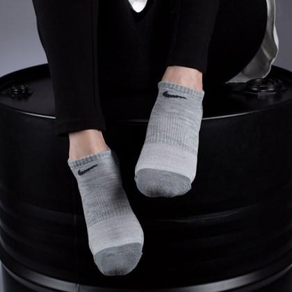 Meia Nike Feminina Everyday Cushioned No Show Kit 3 Pares Multi SK0045-901