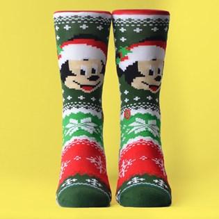Meia Stance Disney Mickey Claus Multi U545D19MIC-MUL