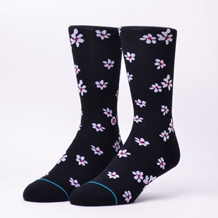 Meia Stance Hendrikson Black Floral M545A18HEN