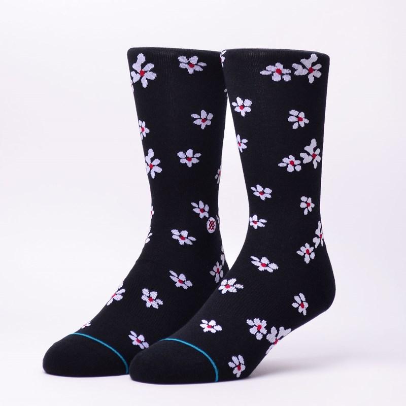 Meia Stance Hendrikson Black Floral M545A18HEN