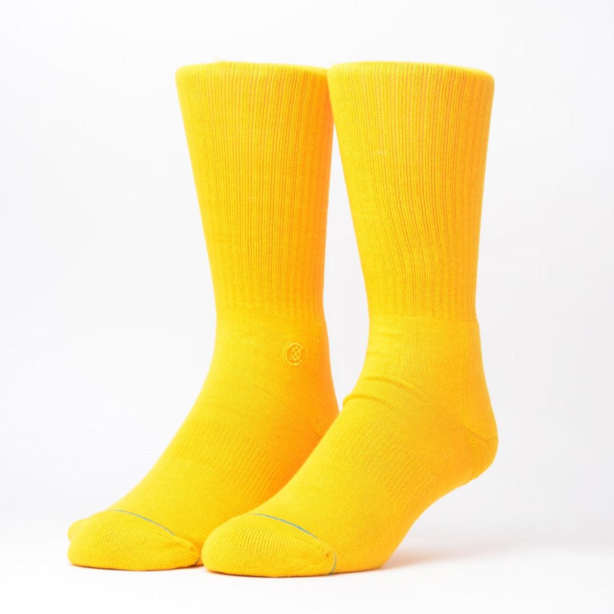 Meia Stance Icon Amarelo M311D14ICO