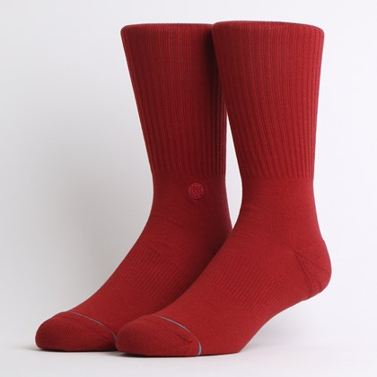 Meia Stance Icon Dahlia Red M311D14ICO-DRD