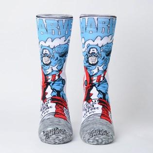 Meia Stance Marvel Captain America Comic Grey M546D18CAA-GRY