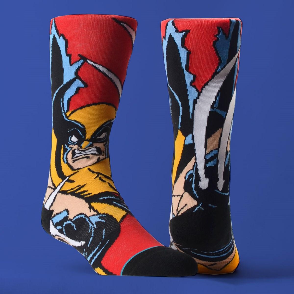 Meia Stance Marvel X-Men Wolverine Red U545D19XMW-RED
