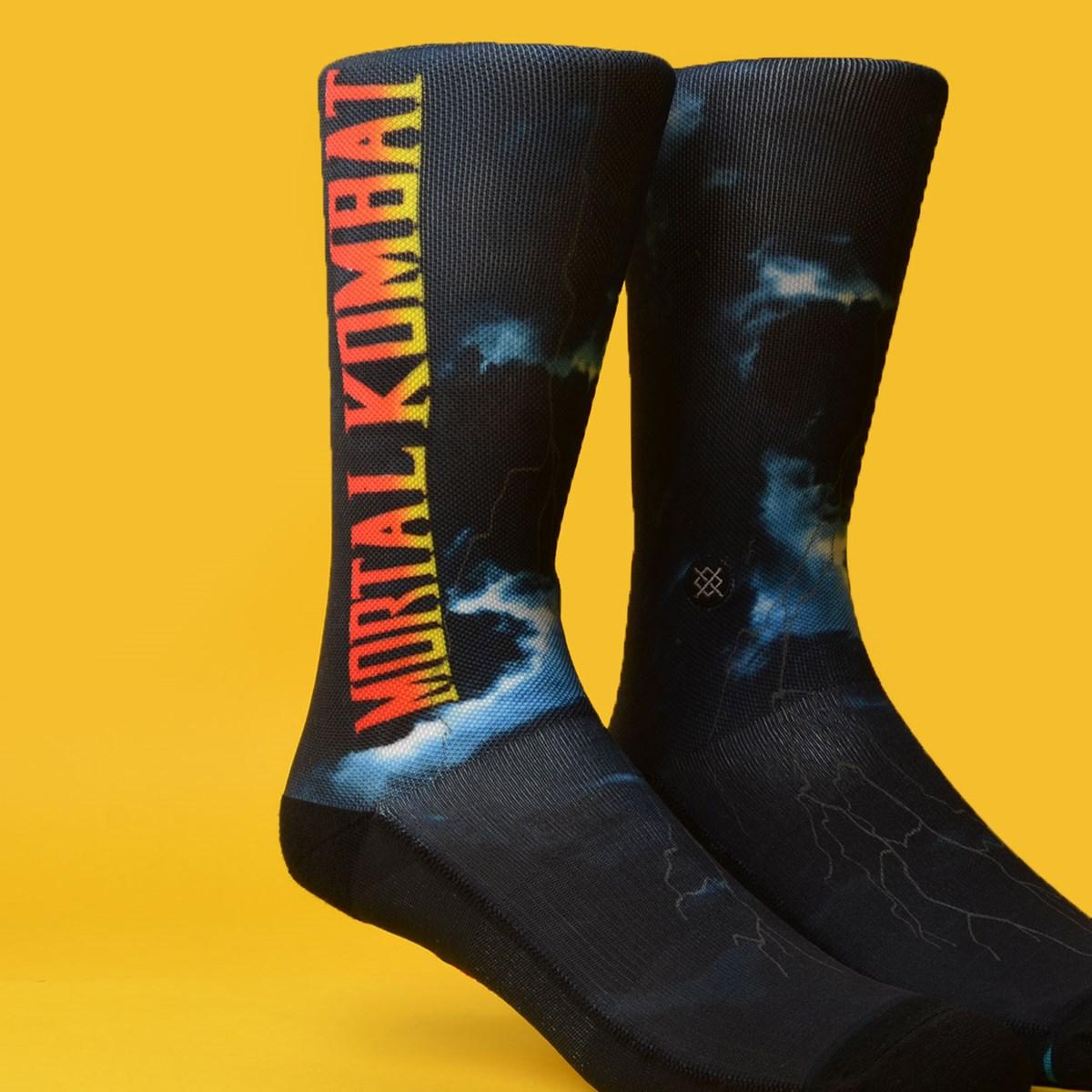 Meia Stance Mortal Kombat II Black M545C19MOR-BLK