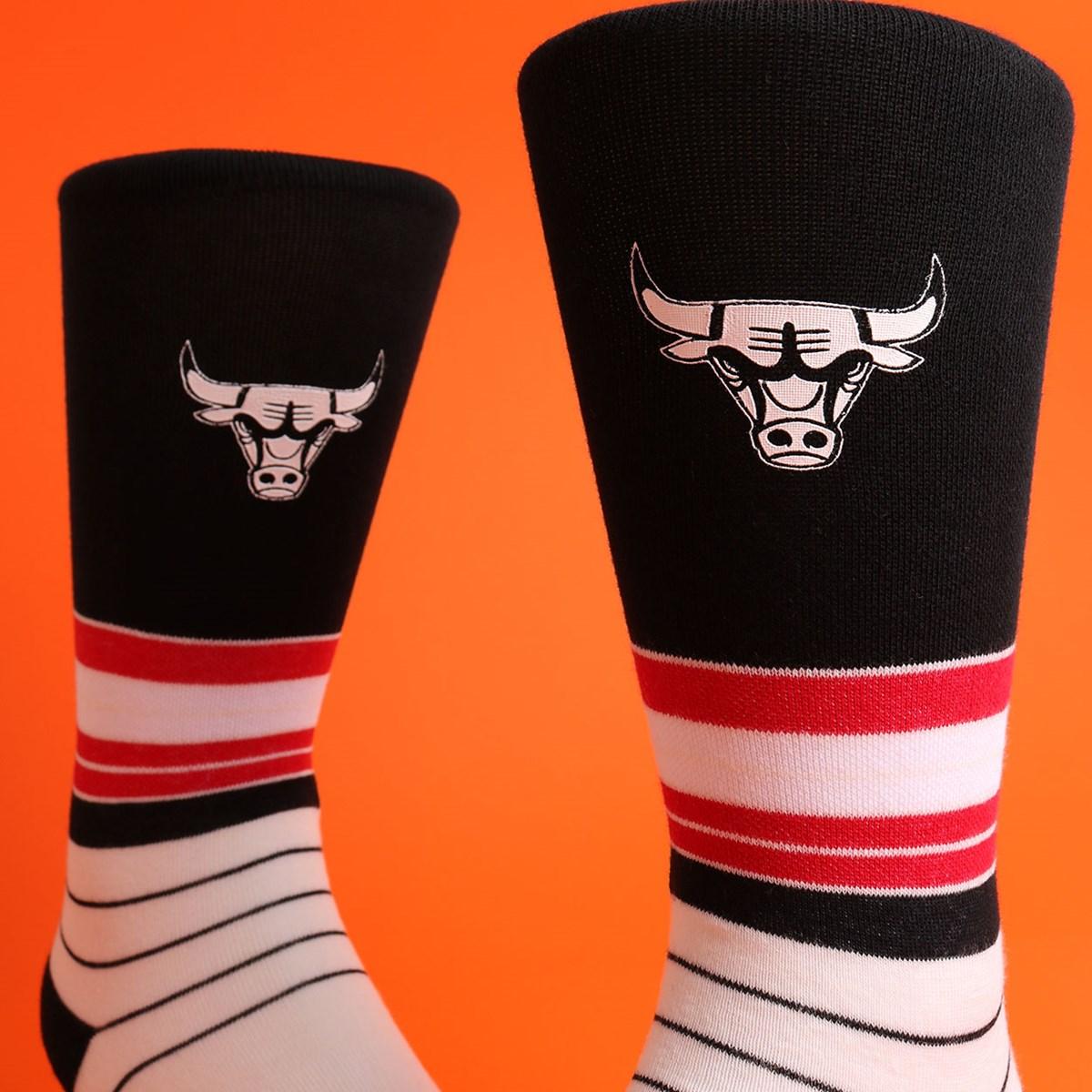 Meia Stance NBA Bulls Baseline Multi M548C19BBU-MUL