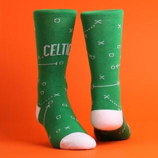 Meia Stance NBA Celtics Playbook Green M545A19CEL-GRN