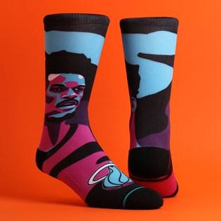 Meia Stance NBA Jimmy Butler Pink M558C19JIM-PNK