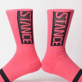 Meia Stance Og Neon Pink M556D17OGGNOP