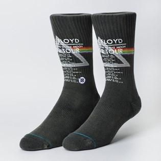 Meia Stance Pink Floyd 1972 Tour Black M556D18TOU