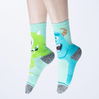 Meia Stance Pixar Monstropolis Turquoise K556D20MON-TUR
