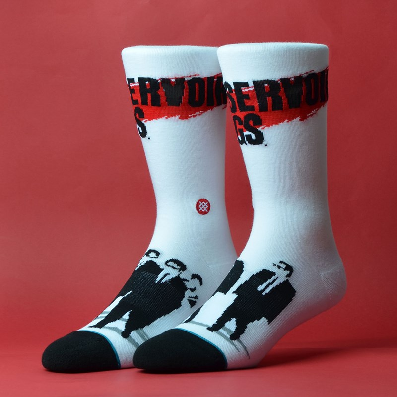 Meia Stance Reservoir Dogs White M545C19RES-WHT