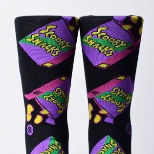Meia Stance Snacks Scooby Doo Black M545C18SCS