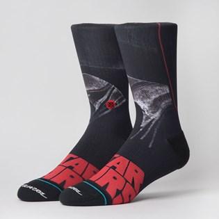Meia Stance Star Wars Mcquarrie Vader Black M558B19MCV-BLK