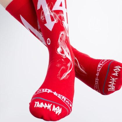 Meia Stance Trippie Redd Red A545A20TRI-RED