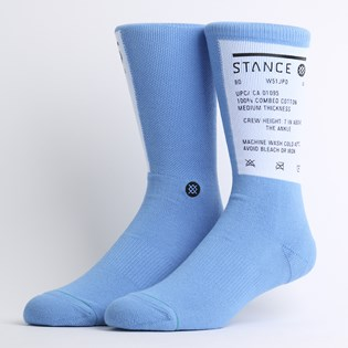 Meia Stance Wash Out Blue M558D19WAS-BLU
