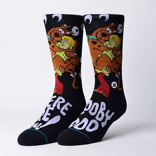 Meia Stance Where Are You Scooby Doo Black M545C18WAU