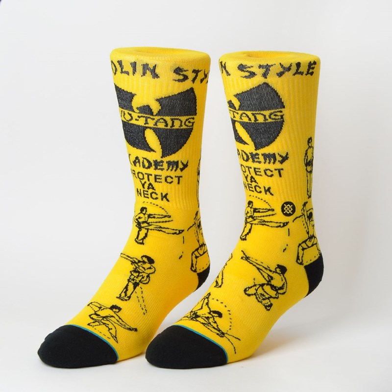 Meia Stance Wu-Tang Yellow M546D18PRO