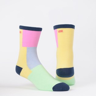 Meia Vans Feminina Ticker Sock Checkwork VN0A49ZDVDK