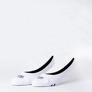 Meia Vans Girly No Show Kit 3 Pares White Black VN0A33TLYB2