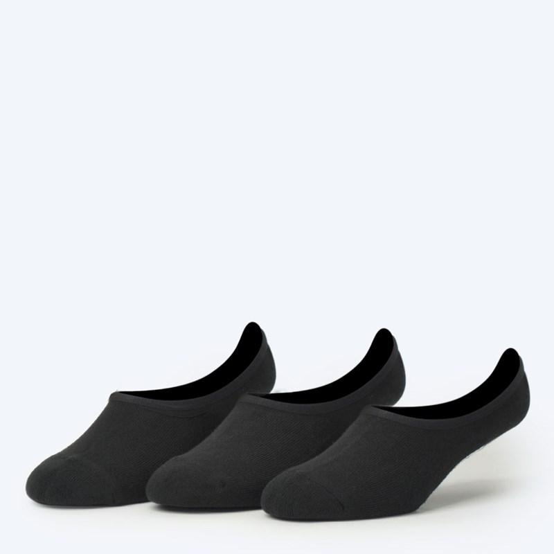 b873bab053f Meia Vans Masculina Classic Super No Show Kit 3 Pares Black VN000XTTBLK