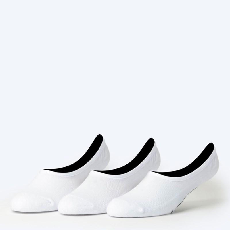 6a082e66d98 Meia Vans Masculina Classic Super No Show Kit 3 Pares White VN000XTTWHT